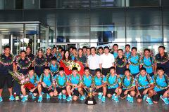 Vô địch Đông Nam Á, U15 Việt Nam được VFF thưởng 350 triệu