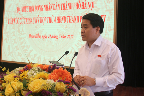 Chủ tịch Hà Nội,Nguyễn Đức Chung,trụ sở bộ ngành