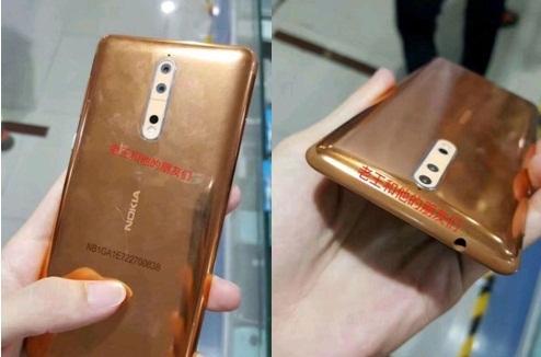 Chiêm ngưỡng phiên bản vàng đồng bóng bẩy của Nokia 8