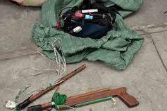 Nghi vấn trộm chó dùng súng tự chế bắn trọng thương công an
