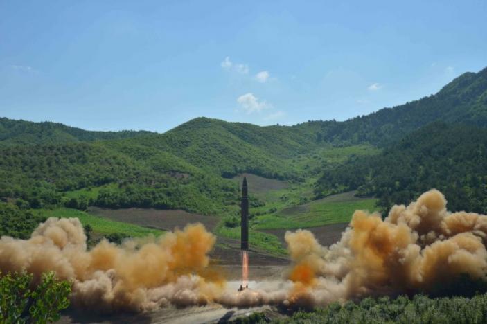 Triều Tiên, tên lửa Triều Tiên, vũ khí Triều Tiên, Triều Tiên thử tên lửa