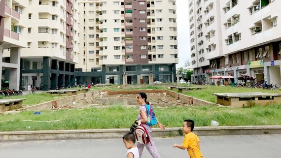 Hàng ngàn căn hộ chờ cấp giấy chủ quyền