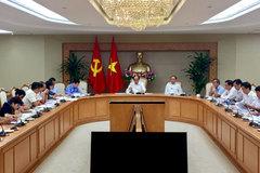 Thủ tướng phê bình 13 bộ ngành, địa phương giải ngân chậm