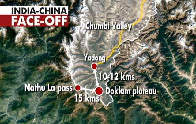 tranh chấp Trung - Ấn, Trung Quốc, Ấn Độ, tranh chấp lãnh thổ