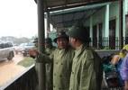 Bão số 4: Hà Tĩnh, Quảng Trị đang mưa to