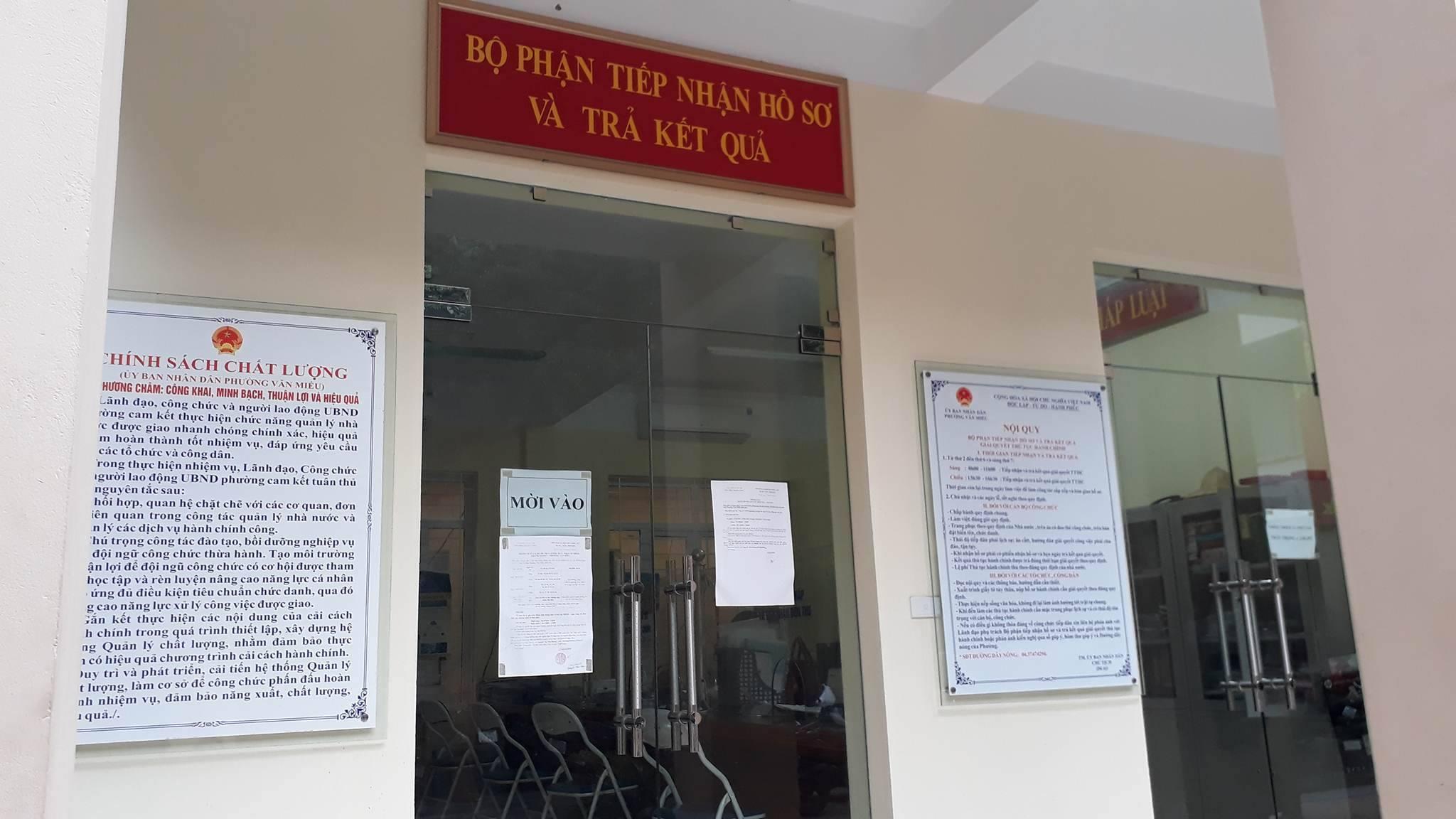 Đi 6 lần xin chứng tử ở phường Văn Miếu: Cần lắp camera