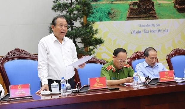 đại án tham nhũng, tham nhũng, Ban Bí thư, Phó Thủ tướng, Trương Hòa Bình