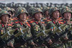 Binh sĩ Triều Tiên tuyên thệ sẵn sàng chiến đấu