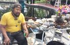 Nam diễn viên bán đồ cũ ở chợ ve chai Sài Gòn