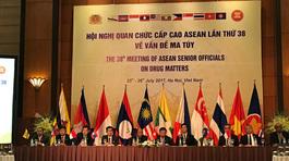 ASEAN vì một Cộng đồng chung không ma túy