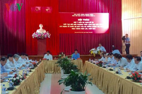 hội nghị Trung ương,Trưởng ban Tổ chức TƯ,Phạm Minh Chính