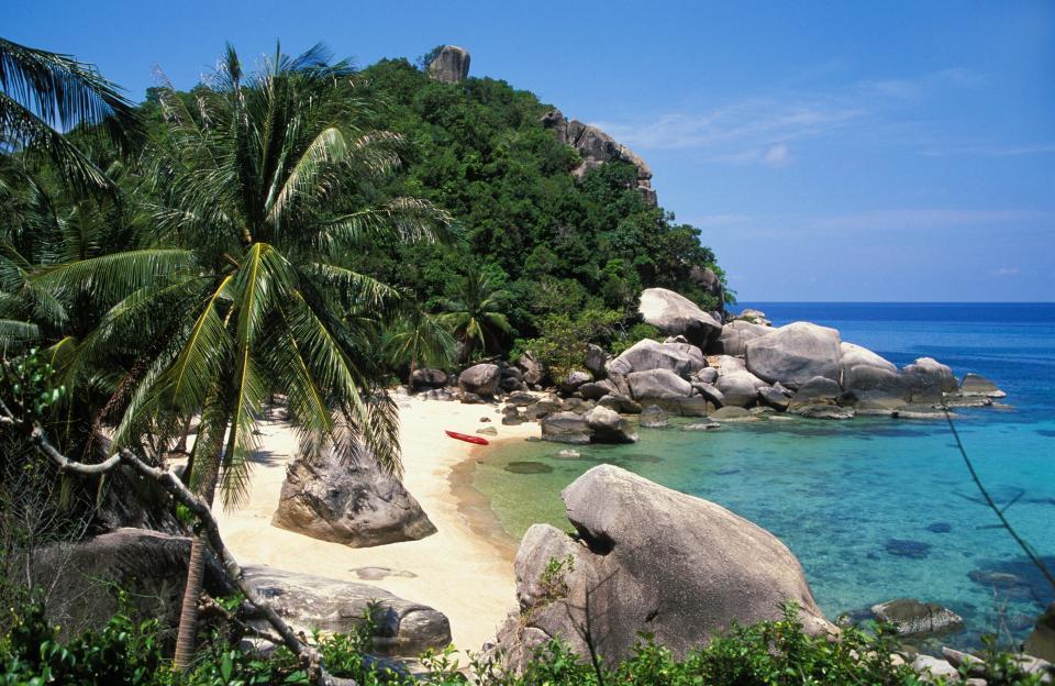 đảo tử thần, Thái Lan, du lịch Thái Lan