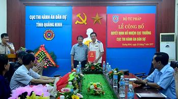 Nhân sự mới Quảng Ninh, Vĩnh Long