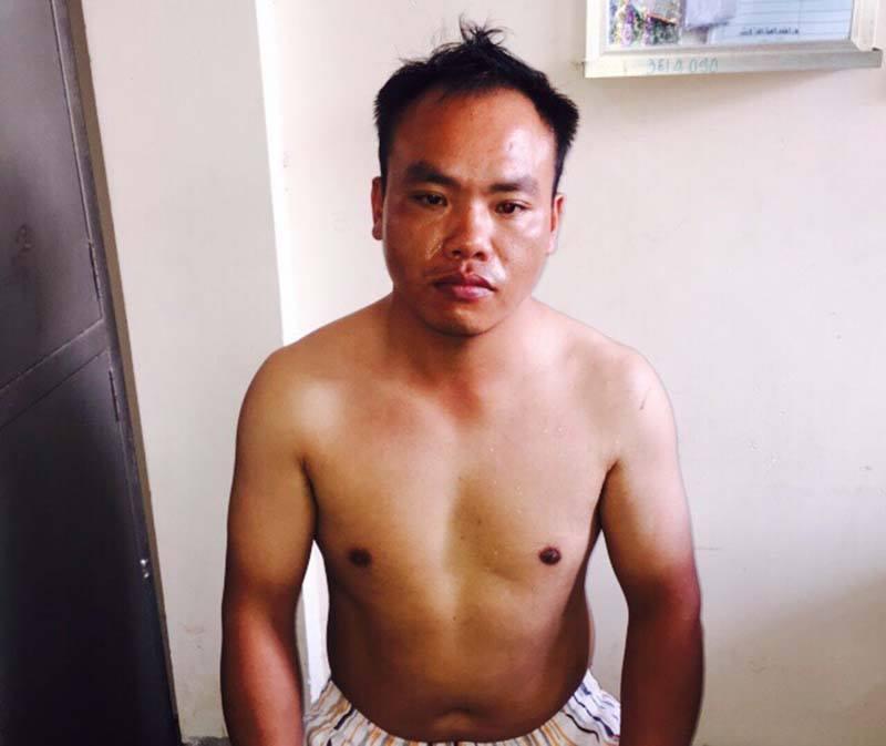 Một người Trung Quốc nghi trộm ô tô của nhà báo giữa đêm