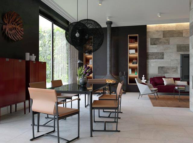 nhà đẹp,nội thất nhà đẹp,thiết kế phòng ăn