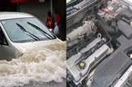 Ô tô bị ngập nước xử lý không đúng cách có thể khiến xe như 'đồ bỏ'