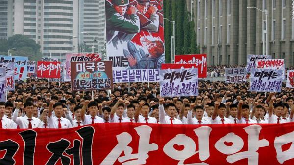 Triều Tiên, Mỹ, vũ khí Triều Tiên, Triều Tiên ghét Mỹ