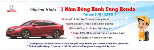 Honda Việt Nam tri ân khách hàng