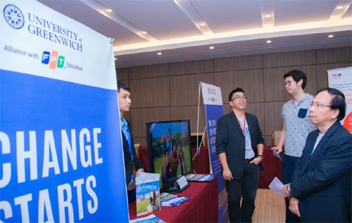 ĐH Greenwich (Việt Nam) đồng hành cùng Cộng đồng Start-up