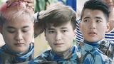Biểu cảm của sao Việt khi bị cắt tóc để nhập ngũ