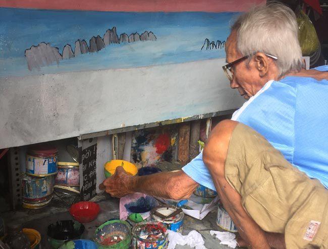 Quảng cáo, vẽ tranh, Sài Gòn, họa sĩ