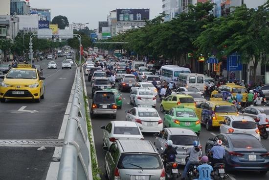 kẹt xe, Tân Sân Nhất, kẹt xe Tân Sân Nhất, TP.HCM, Bùi Xuân Cường