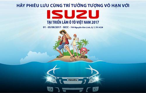 Isuzu tung 'át chủ bài' tại Triển lãm ô tô Việt Nam