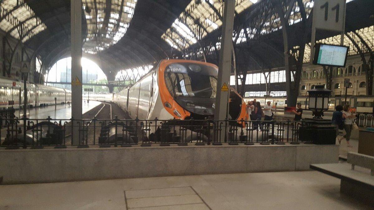 đường sắt, tàu đâm, Tây Ban Nha