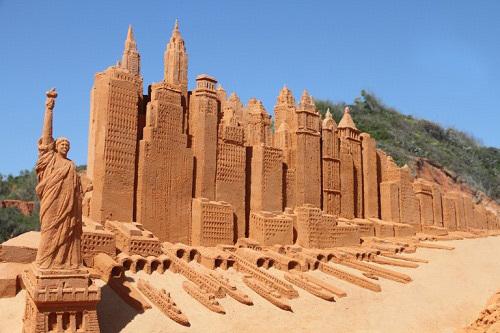Công viên tượng cát đầu tiên ở Việt Nam