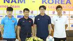 HLV Hữu Thắng không dám đá đôi công với Hàn Quốc
