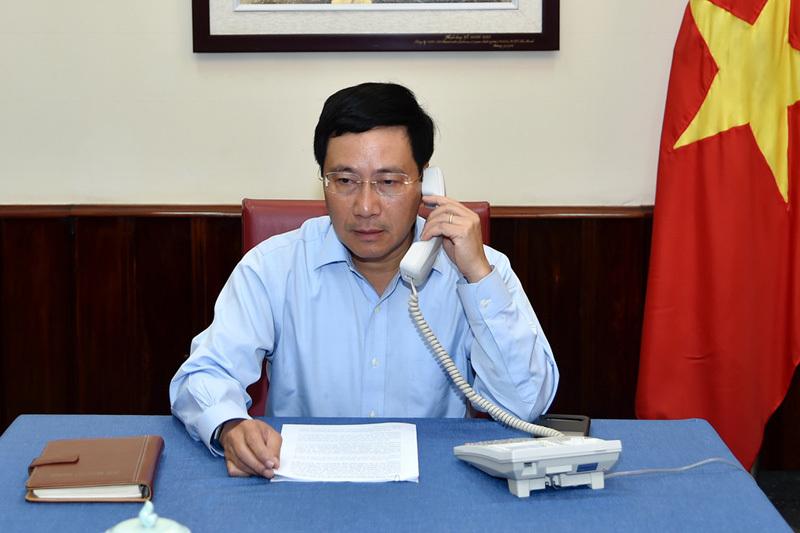Phó Thủ tướng Bộ trưởng Ngoại giao Phạm Bình Minh, Phạm Bình Minh, tàu cá, Indonesia