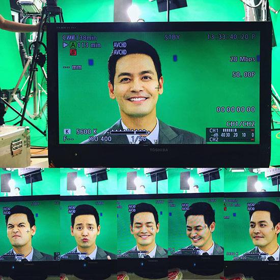 Biểu cảm đáng yêu chưa từng thấy của MC Phan Anh trước ống kính