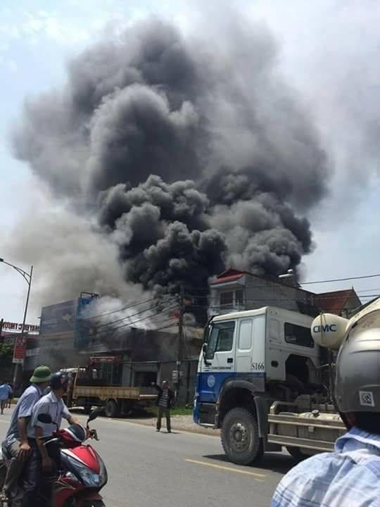 Cháy nổ ở Hoài Đức, cháy lớn, cháy lớn ở Hà Nội, Hoài Đức