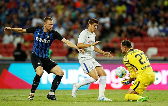 Chelsea, Inter, ICC Cup, giao hữu quốc tế