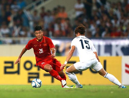 U22 Việt Nam, HLV Hữu Thắng, Công Phượng, K-League