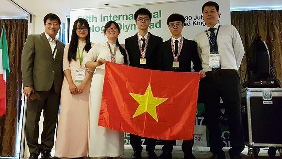 Olympic Sinh học quốc tế, học sinh giỏi