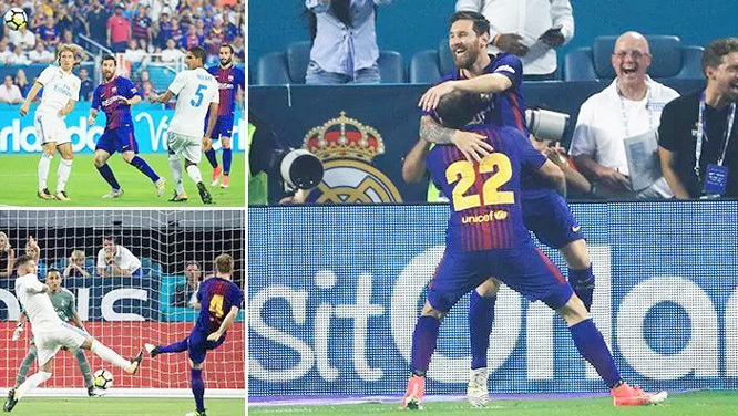 Barca, Real, ICC Cup, giao hữu quốc tế
