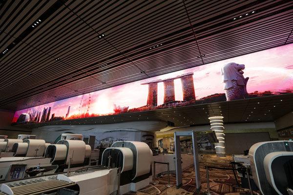 Hình ảnh nhà ga sang trọng bậc nhất châu Á