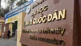Điểm chuẩn Trường ĐH Kinh tế Quốc dân cao nhất là 27 điểm