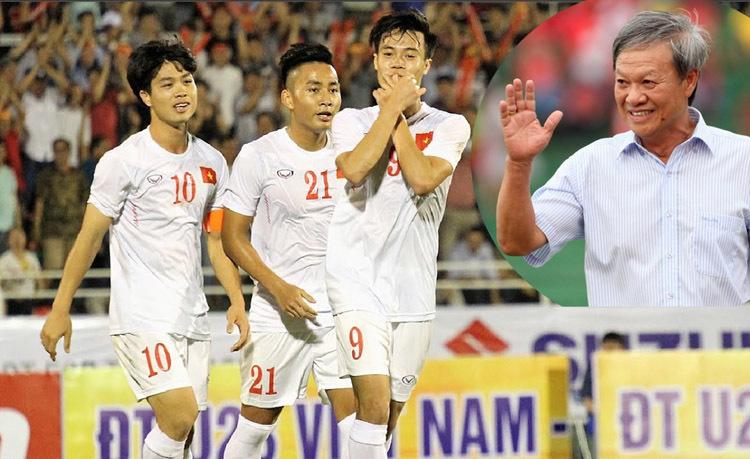 Công Phượng, HLV Lê Thụy Hải, U22 Việt Nam, HLV Hữu Thắng, bốc thăm SEA Games
