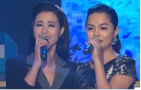 Đông Nhi, Phạm Quỳnh Anh hát tặng Wanbi Tuấn Anh
