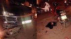 Siêu xe Porsche húc 6 người bị thương, xe máy la liệt khắp đường