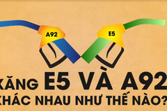 Xăng E5 và A92 khác nhau như thế nào?