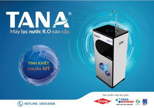 Tân Á Đại Thành phát triển máy lọc nước chuẩn Mỹ