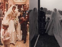 Công bố loạt ảnh hiếm trong ngày cưới của cố Công nương Diana