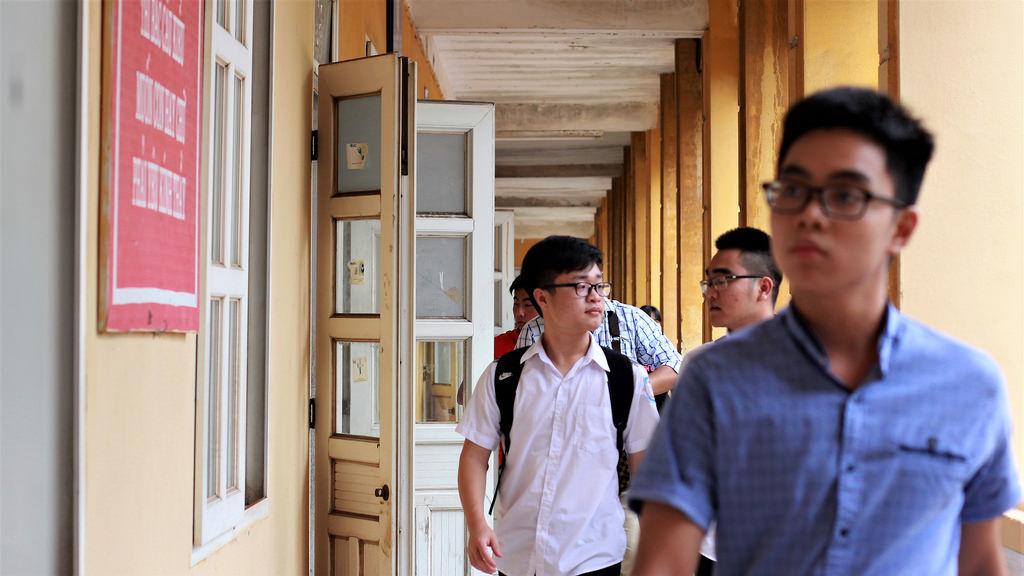 Điểm chuẩn đại học 2017 cao nhất trong nhiều năm