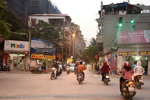 mở rộng đường Nguyễn Tuân, hạ tầng giao thông, chung cư cao tầng, quy hoạch đô thị, giao thông đô thị, quá tải hạ tầng