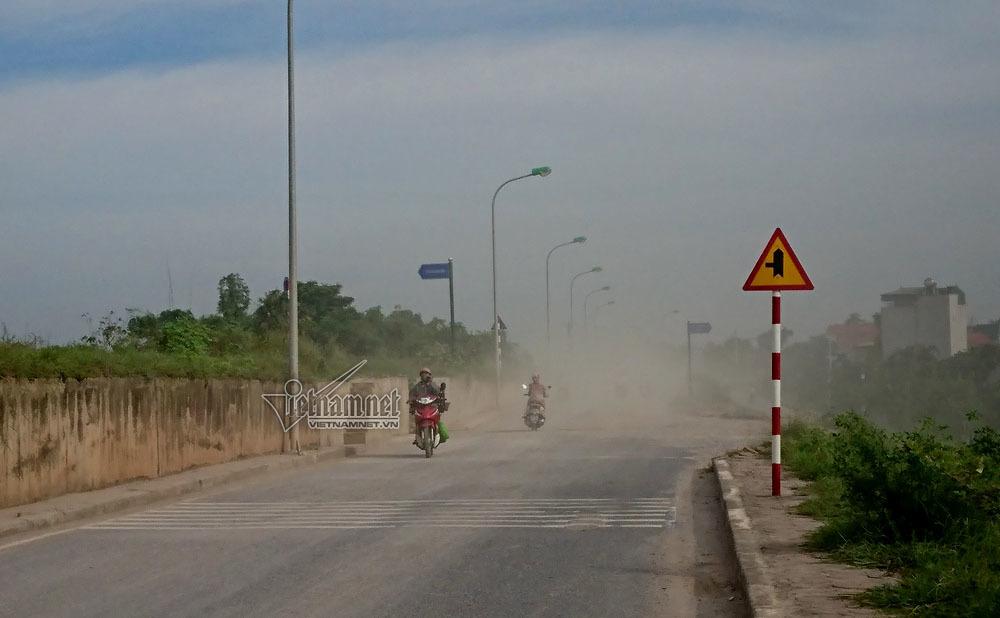 khói bụi, ô nhiễm không khí, môi trường, Hà Nội