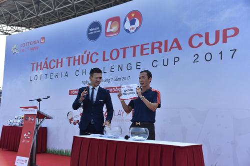 Sôi động giải bóng đá thiếu nhi Lotteria Cup 2017