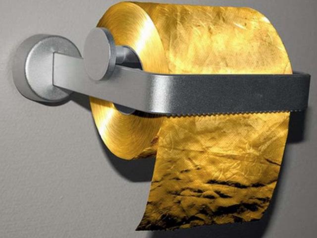 giới siêu giàu, dát vàng